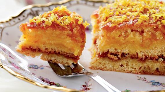 Глазированный лимонный пирог с лимонным кремом от Делии Смит. Пошаговый рецепт с фото, удобный поиск рецептов на Gastronom.ru