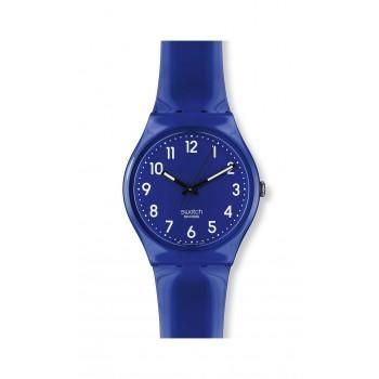 SWATCH Rise Up - GN230 Blue case, with Blue Rubber Strap