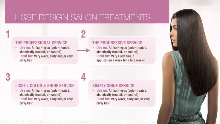 DID YOU KNOW? LISSE DESIGN KERATIN THERAPY is actually 4 in salon treatments in 1? In addition to the Lisse Design Professional Smoothing Service you can also offer a Progressive Service, a Lisse + Color & Shine Service and a Lisse Simply Shine Service.  #alfaparf #mullingar