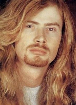 A young Dave Mustaine (beard works)