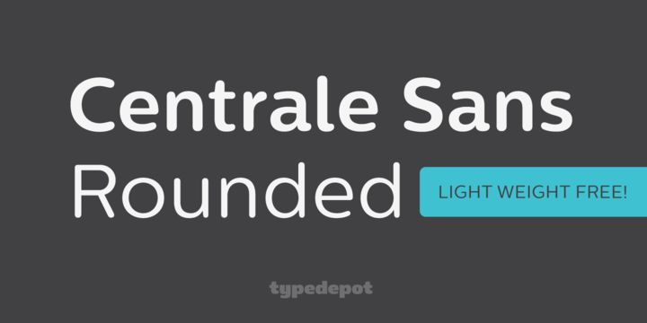 Centrale Sans Rounded (HOT font) - http://fontsdiscounts.com/centrale-sans-rounded-hot-font/