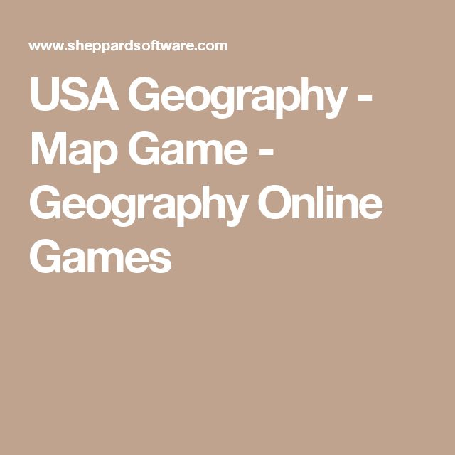 Best Geography Map Games Ideas On Pinterest United States - Sheppard software us map