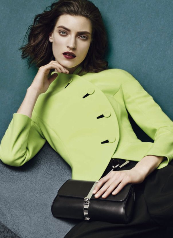 George Alsford, Marikka Juhler by Sølve Sundsbø for Giorgio Armani Fall Winter 2014-2015