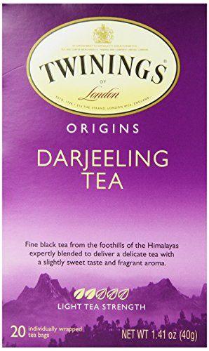 Twinings Darjeeling Tea, Tea Bags, 20-Count Boxes (Pack of 6) - http://teacoffeestore.com/twinings-darjeeling-tea-tea-bags-20-count-boxes-pack-of-6/