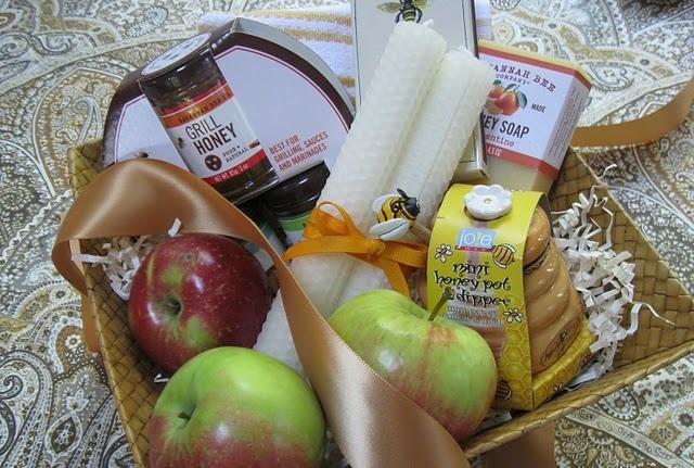 Rosh Hashanah hostess basket