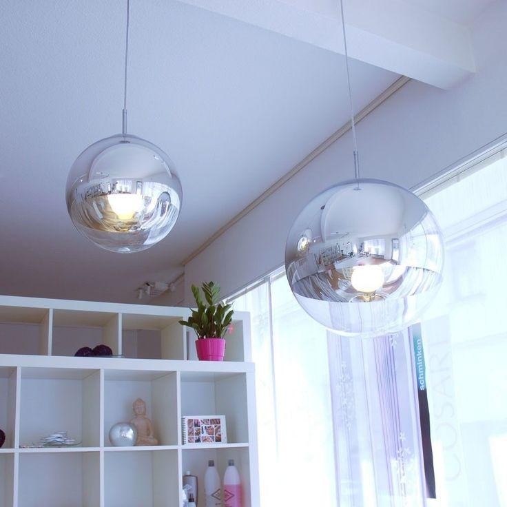 Globo Luce a sospensione GALACTICA Sfera di vetro 1x60W Lampada GLO-15811