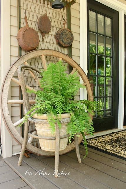 650 best primitive front porches images on pinterest for Southern front porches