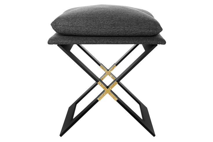87 best images about details criss cross on pinterest ottomans oak chair - Unic design tabouret ...