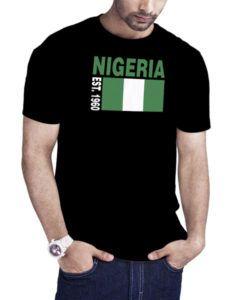 Men's Nigeria Est 1960 Nigeria Independence Day T-Shirt