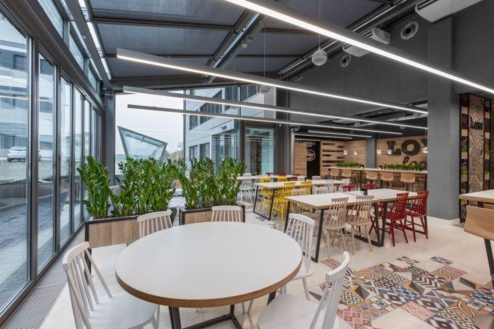 Restaurant by mode:lina architekci at LIDL headquters, Poznań – Poland » Retail Design Blog
