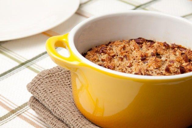 Pumpkin Pie Quinoa Breakfast Casserole | Healthful Pursuit
