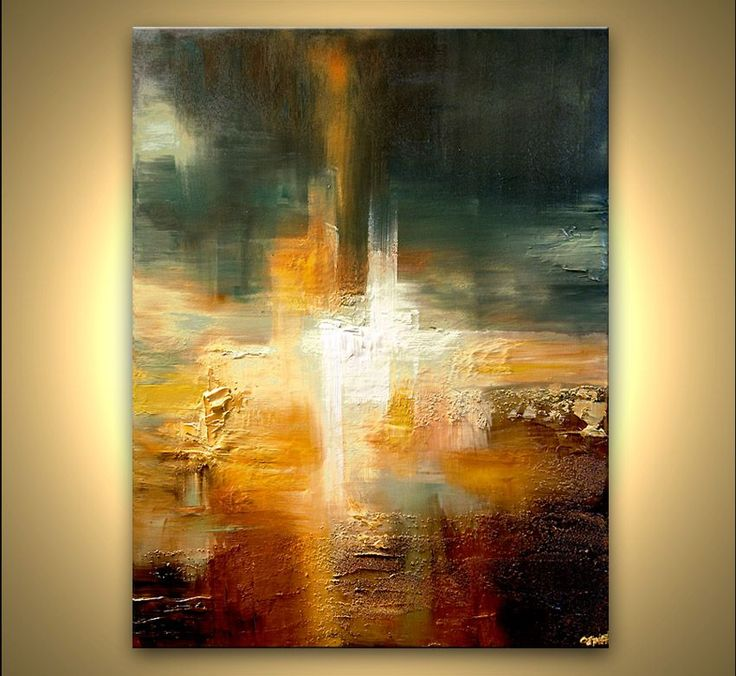 Best Abstract Art Paintings Ideas On Pinterest Gold Leaf - Abstract art canvas painting ideas