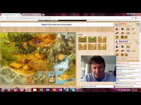 Stone Age Board Game 2 Players Part 1