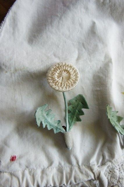Dorset Button becomes a dandelion!