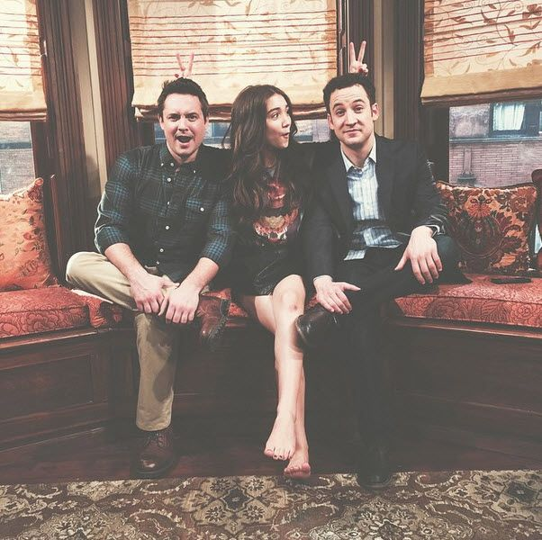Rowan Blanchard with Will Friedle & Ben Savage