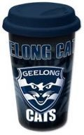 Official AFL Geelong Cats Ceramic Travel Mug