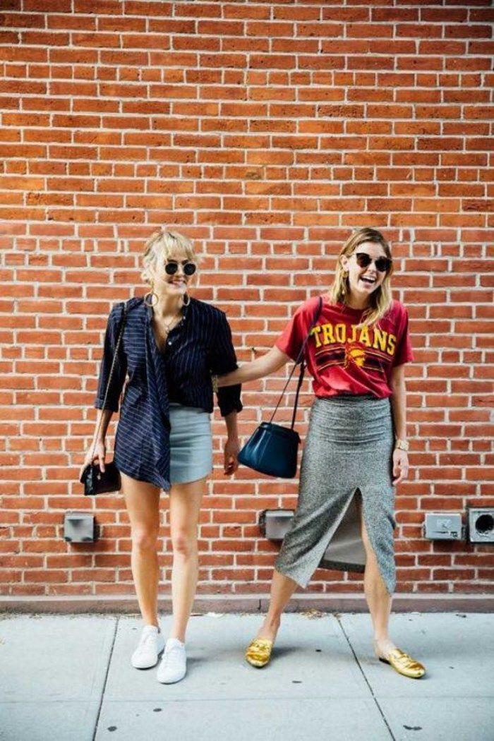 Chân váy xẻ tà đang là xu hướng Hot được các tín đồ thời trang yêu thích và tích cực diện đón hè.