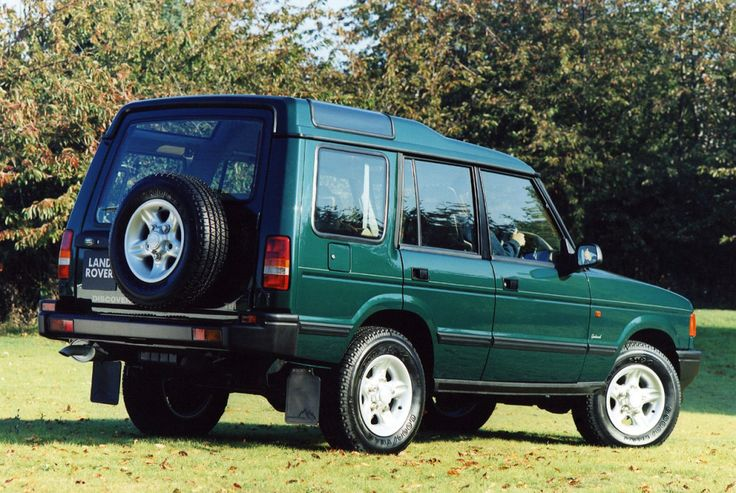 Land Rover Discovery 5-door UK-spec '1994–98
