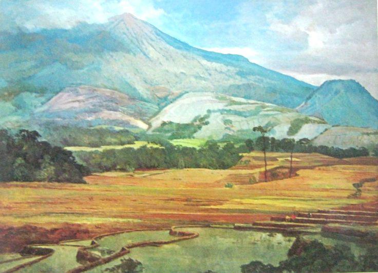 Dullah - Gunung Lawu, Jawa Tengah (1953)