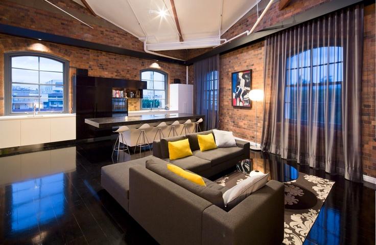Woolstore Apartment, Tonic Architecture and Design, Interior Design
