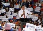 "44. By WALT CRONKITE / CBS NEWS/ October 4, 2012, 11:02 PM  Romney: ""47 percent"" remarks ""completely wrong""  Republican presidential candidate former Massachusetts Gov. Mitt Romney speaks at a rally in Fishersville, Va., Thursday, Oct. 4, 2012./ AP PHOTO/STEVE HELBER"