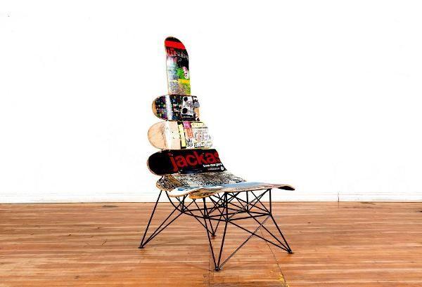 Monoplace La Mini Bête Design skateboards furnitures
