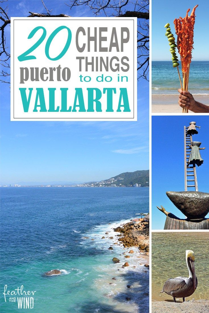 20 Cheap and Free Things to do in Puerto Vallarta, Mexico. So many great ideas to add to your itinerary that can be done on a budget!