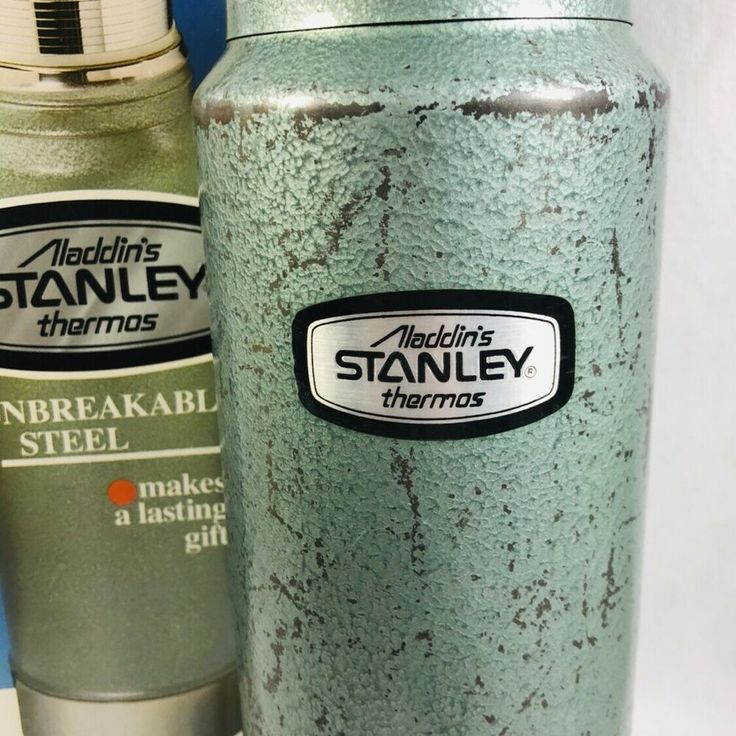 VTG 1980 Aladdin's Stanley Thermos 0.95 Liters Unbreakable