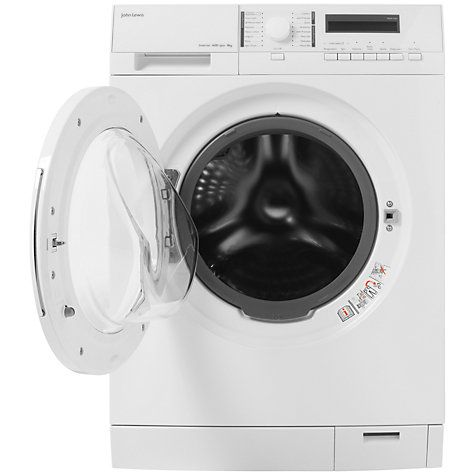 Buy John Lewis JLWM1414 Freestanding Washing Machine, 8kg Load, A+++ Energy Rating, 1600rpm Spin, White Online at johnlewis.com