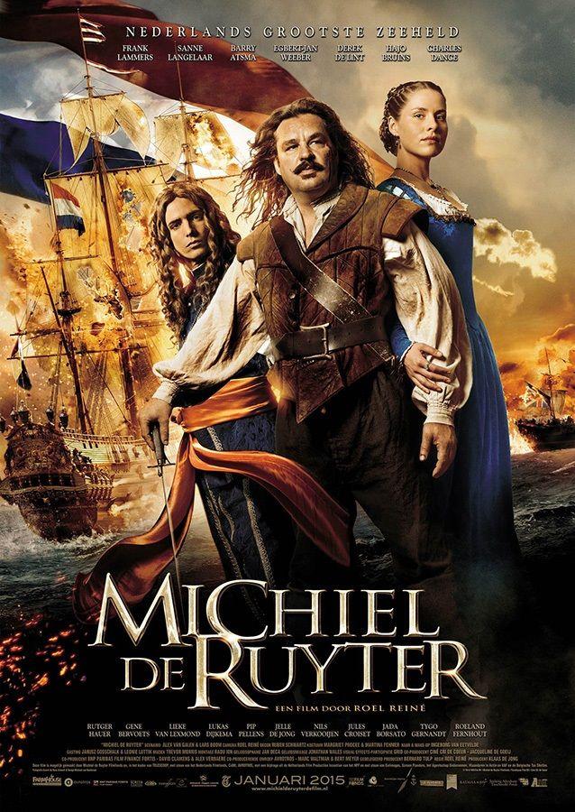 Admiral - Michiel de Ruyter, the movie (2015)  Dit is een film over het leven van Michiel de Ruyter en de vele slagen die hij heeft gehad op zee. Ook komen de gebroeders de Witt voor in de film die later vermoord worden.