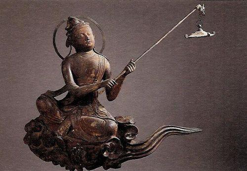 Cloud memorial Bodhisattva - Byodoin Temple -02