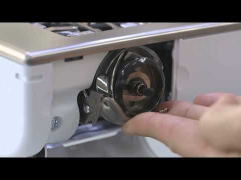 BERNINA 880: how to clean and oil your sewing machine - YouTube