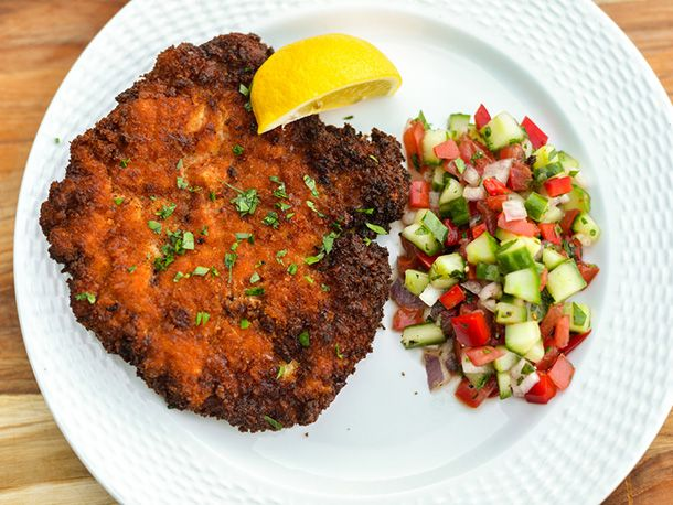 How to make The Perfect Chicken Schnitzel #recipe