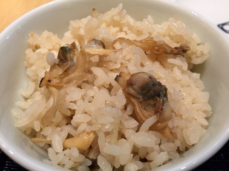 My favorite Asari Meshi / 大好物のアサリの炊き込み御飯