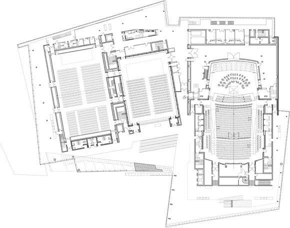 harpa concert hall floor plans - Google Search