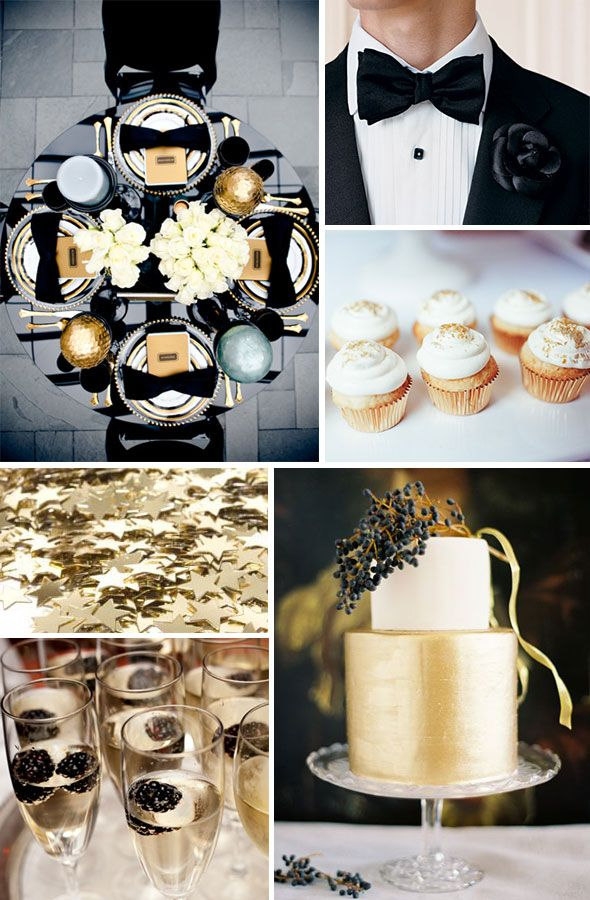 Best 25 Black Gold Weddings Ideas On Pinterest