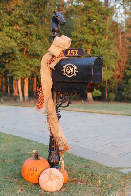simple decor for your mailbox