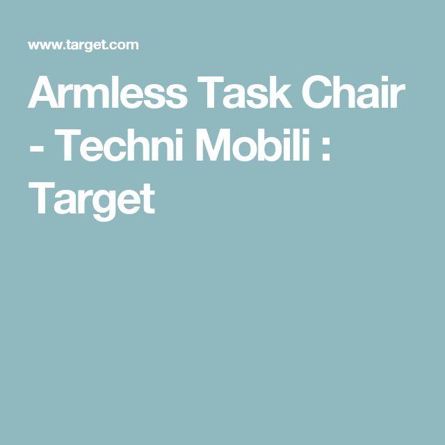 Armless Task Chair - Techni Mobili : Target