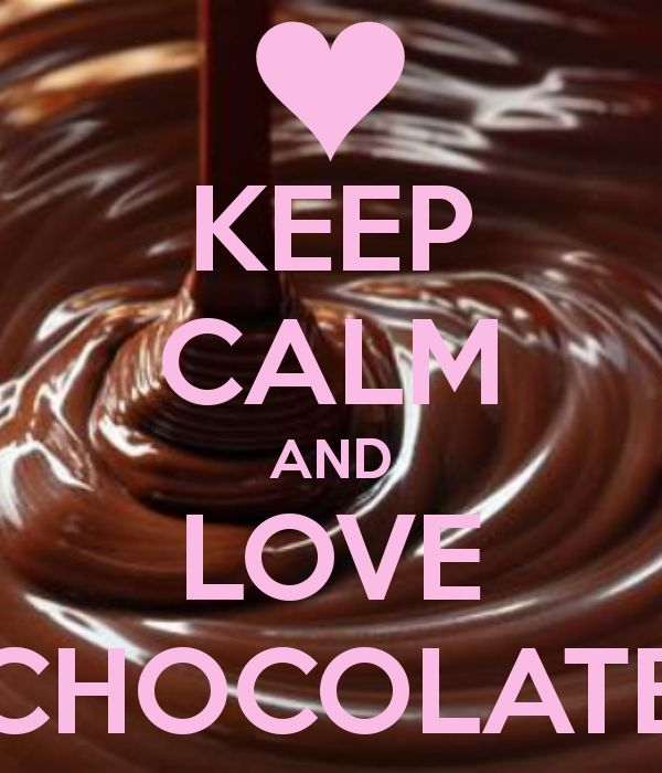 love chcolate