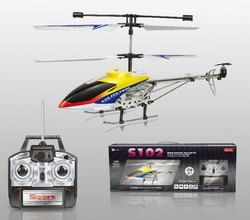 RC Helicopter  S102G - Gelb - 3.5 Kanal