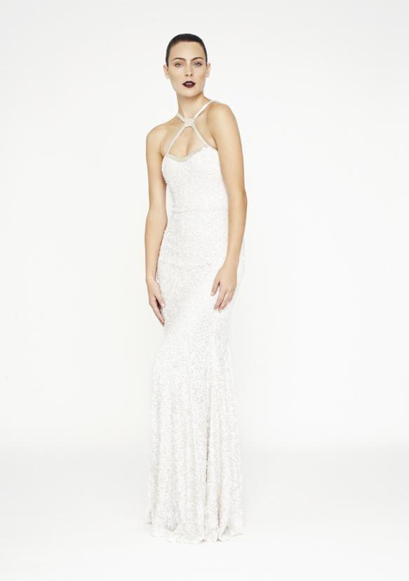Rachel Gilbert Azaria Gown