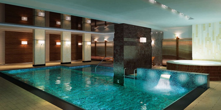 Underground swimming pool foksal residence this is why for Underground swimming pool designs