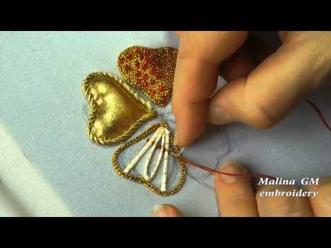 ВЫШИВКА ПО НАСТИЛУ из веревки \  GOLDWORK: Embroidery on decking rope