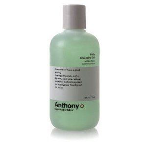 Anthony Logistics For Men Body Cleansing Gel - Eucalyptus/Mint 8 oz by Anthony Logistics for Men. $19.95. Buy Anthony Logistics for Men Cleansers - Anthony Logistics for Men Body Cleansing Gel - Eucalyptus Mint 237ml/8oz. How-to-Use: Step 1: Wash your hands to remove bacteria and dirt. Step 2: Remove any makeup. Step 3: Splash your face with luke warm water. Step 4: Lather a small amount of cleansing gel between your hands. Step 5: Cleanse from the neck up to the hai...
