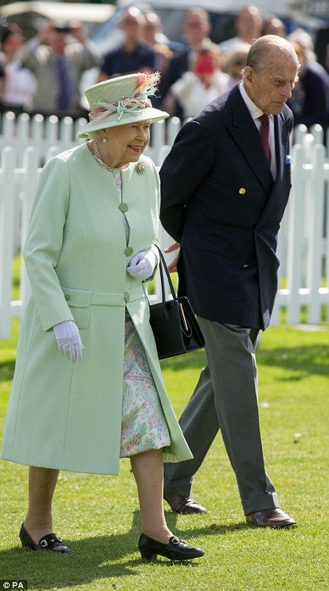 Looking good: The Queen, 91, and her husband, 96, looked well rested despite Her Majesty having a busy social calendar this week 25 Jun 2017
