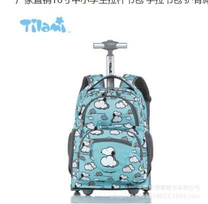 bffd273ff37e ... brand new 0d194 781b8 TILAMI Children Trolley School Bags kids Trolley Backpack  18 inch Travel Luggage ...