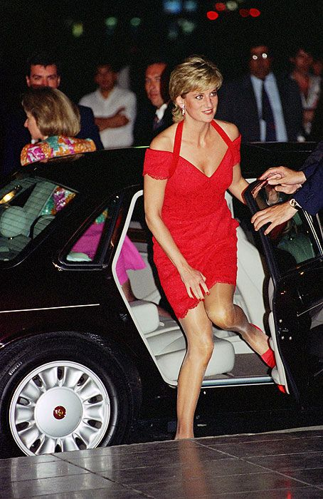 The creation of a royal star: Diana's dresses remembered as designer dies - Picture 10