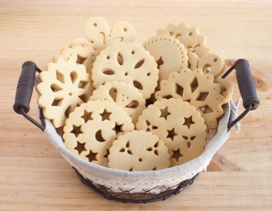 Galletas de encaje (Doily Biscuits)