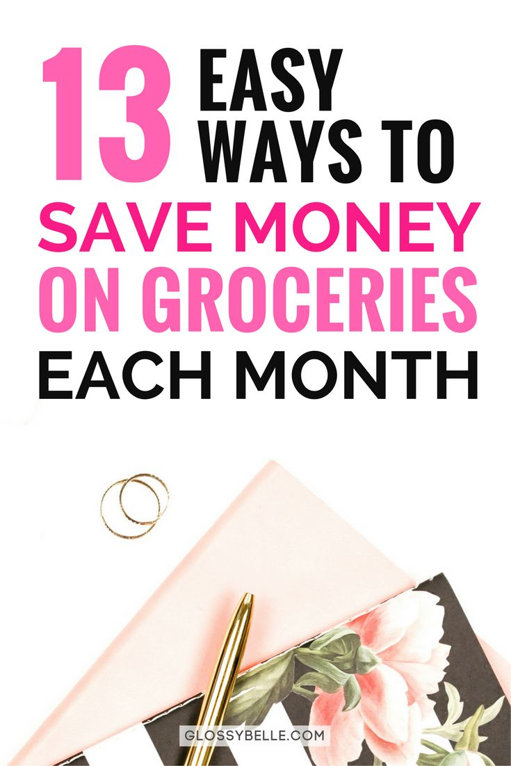 Food is one of the most basic essentials in our daily lives but that doesn't mean we need to spend a ton of money to feed ourselves right. Here are 13 easy and simple ways to save money on groceries, lower your food cost each month, and feed yourself happily and healthily even if you're on a tight budget.