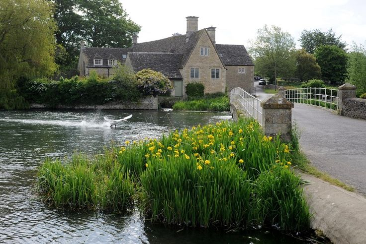 Fairford is a small town in Gloucestershire, England. The town lies on the River Coln and is a gem in the Cotswolds.
